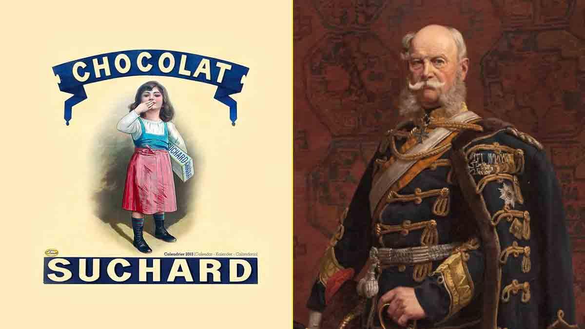 Los chocolates Suchard adquirieron fama gracias al Rey de Prusia, Federico Guillermo IV