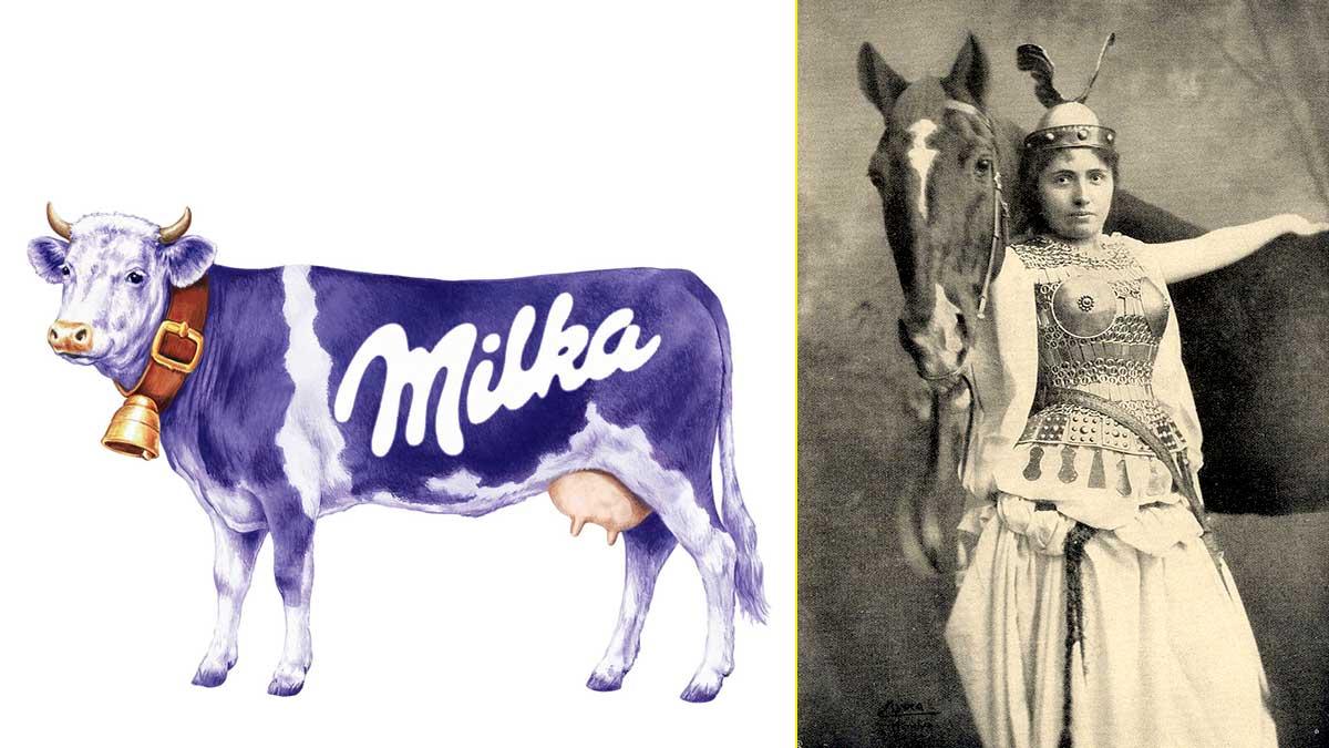 """El naming de Milka viene de """"Milch und Kakao"""" (leche y cacao) aunque también podría ser por la soprano Milka Ternina"""