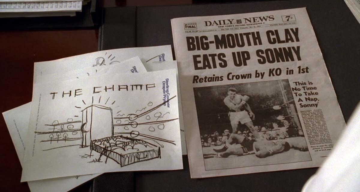 Imágenes de la campaña de publicidad que hicieron en la serie Mad Men para Samsonite