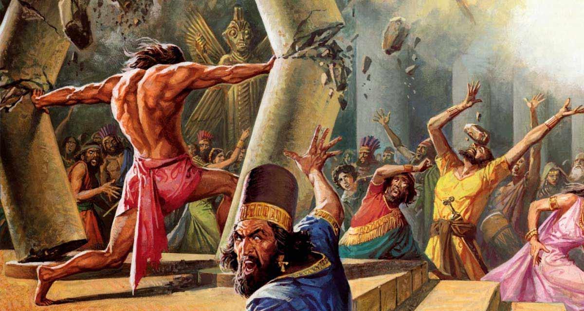"""El naming de Samsonite es un homenaje a """"Samson"""", el personaje bíblico de fuerza descomunal"""