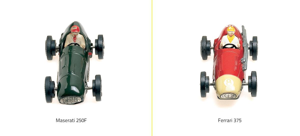 Los primeros coches de Scalextric