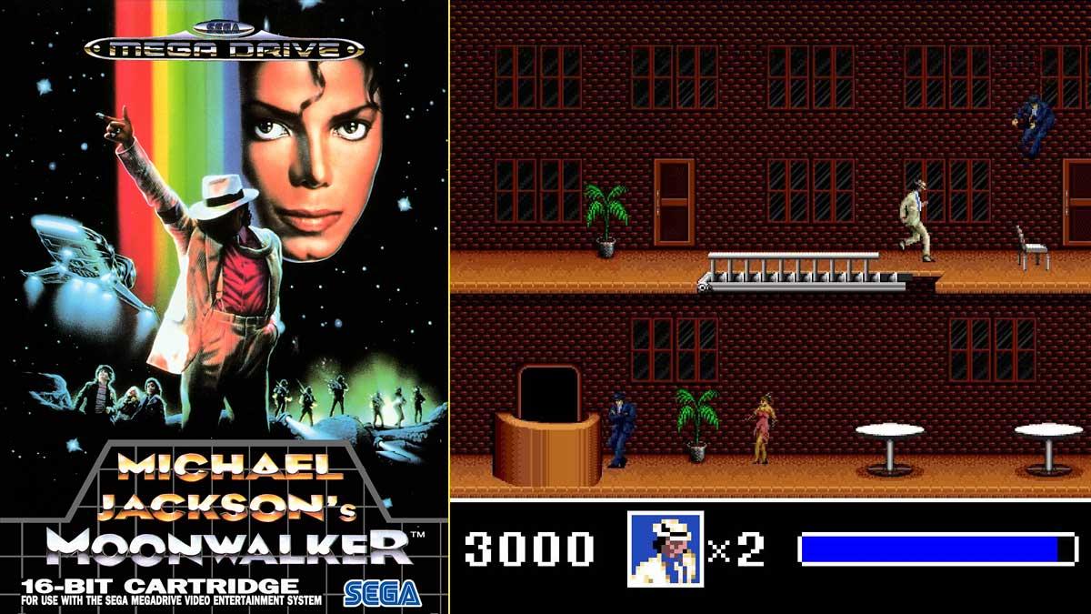 Michael Jackson colaboró en el desarrollo de MoonWalker, videojuego en el que era protagonista