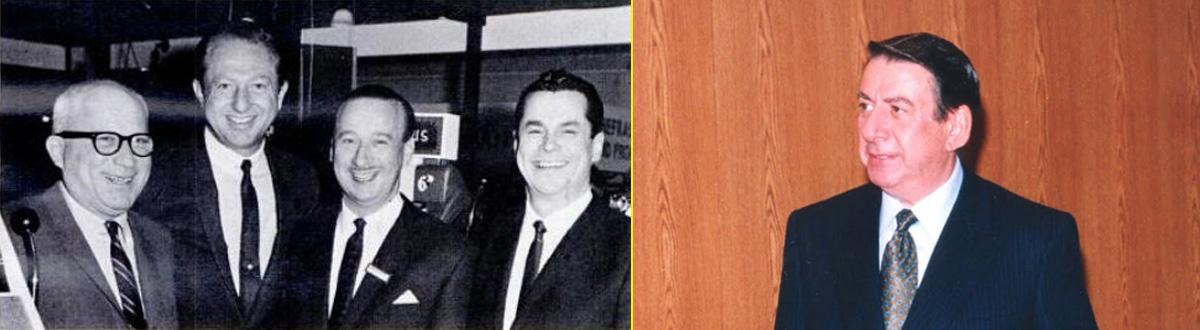 Sam Stern (Williams Electronics), Martin Bromley, Gordon Marks (Phonographic), Gilbert Kitt (Empire Coin Machine Ex.) - Dave Rosen