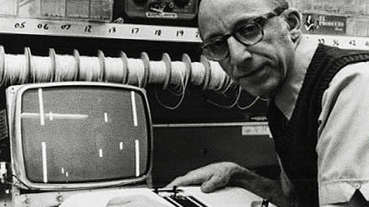 """Ralph H. Baer, considerado como """"el padre de los videojuegos"""" por su trabajo en el desarrollo de la videoconsola"""