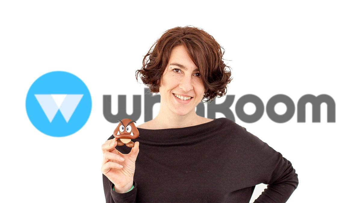 Silvia Ferrando, creadora de la identidad corporativa de Whakoom y responsable de diseño y UX