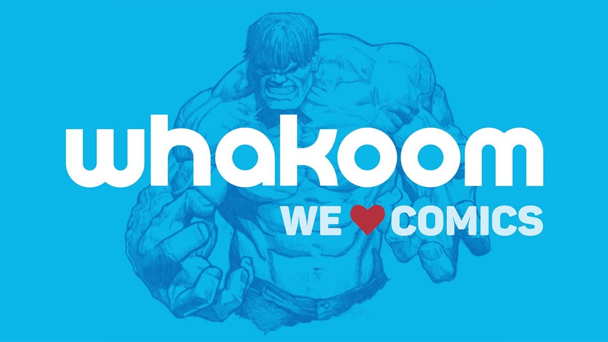 El nombre de Whakoom viene de la onomatopeya de los golpes de Hulk (La Masa)