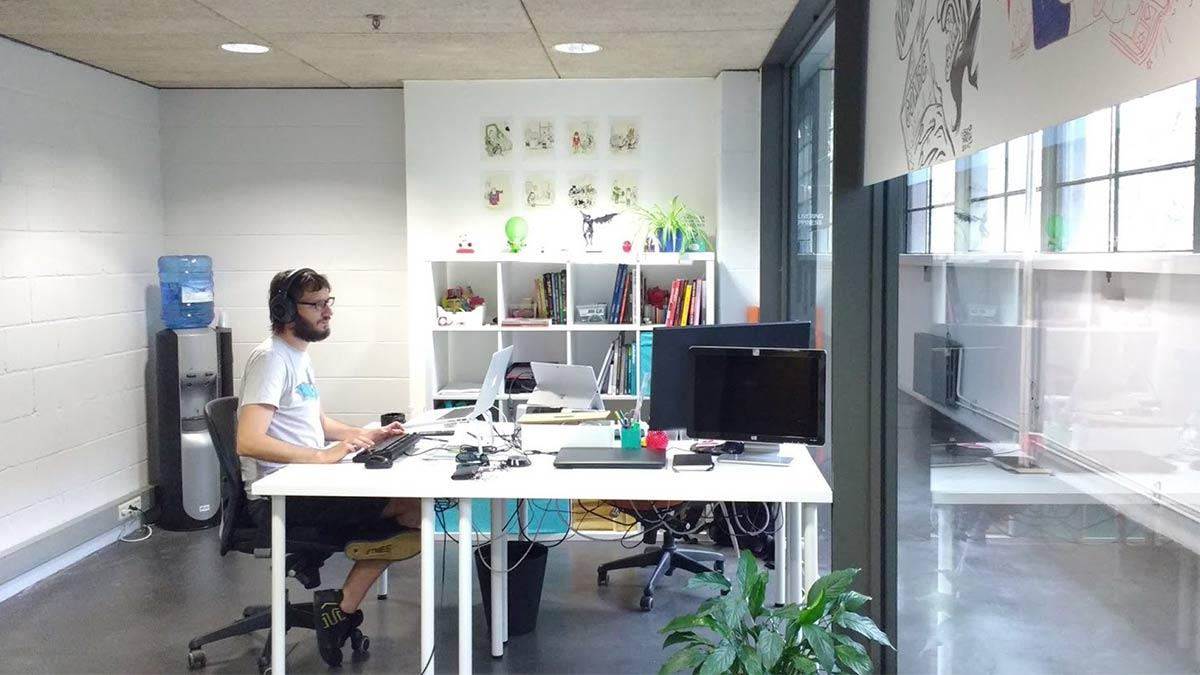 Oficinas de Whakoom en Barcelona