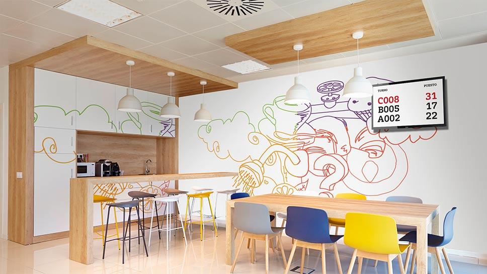 Brandstocker-agencia-madrid-Veolia-implatacion-vinilos-oficina-oficinas-3