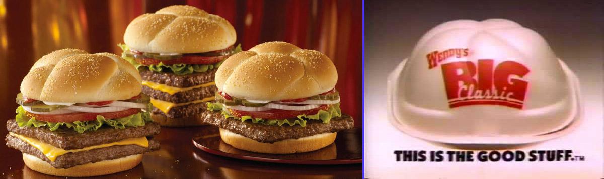 El Big Classic fue la hamburguesa que creó Wendy's para competir con el Whopper