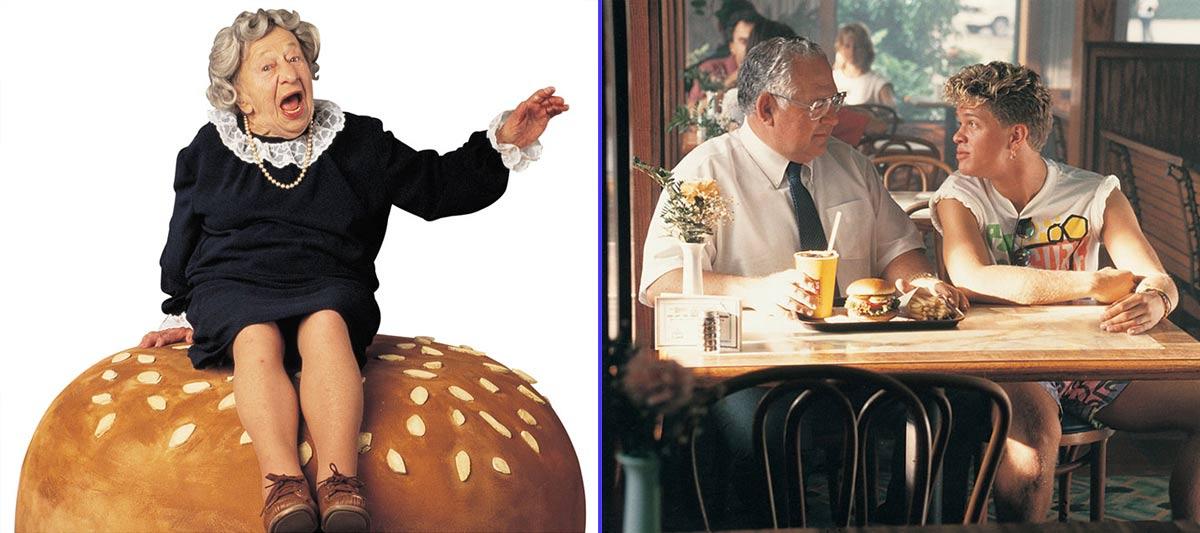 Elizabeth Shaw, protagonista de la campaña 'Where is the beef?' - Anuncio protagonizado por Dave Thomas (1989)