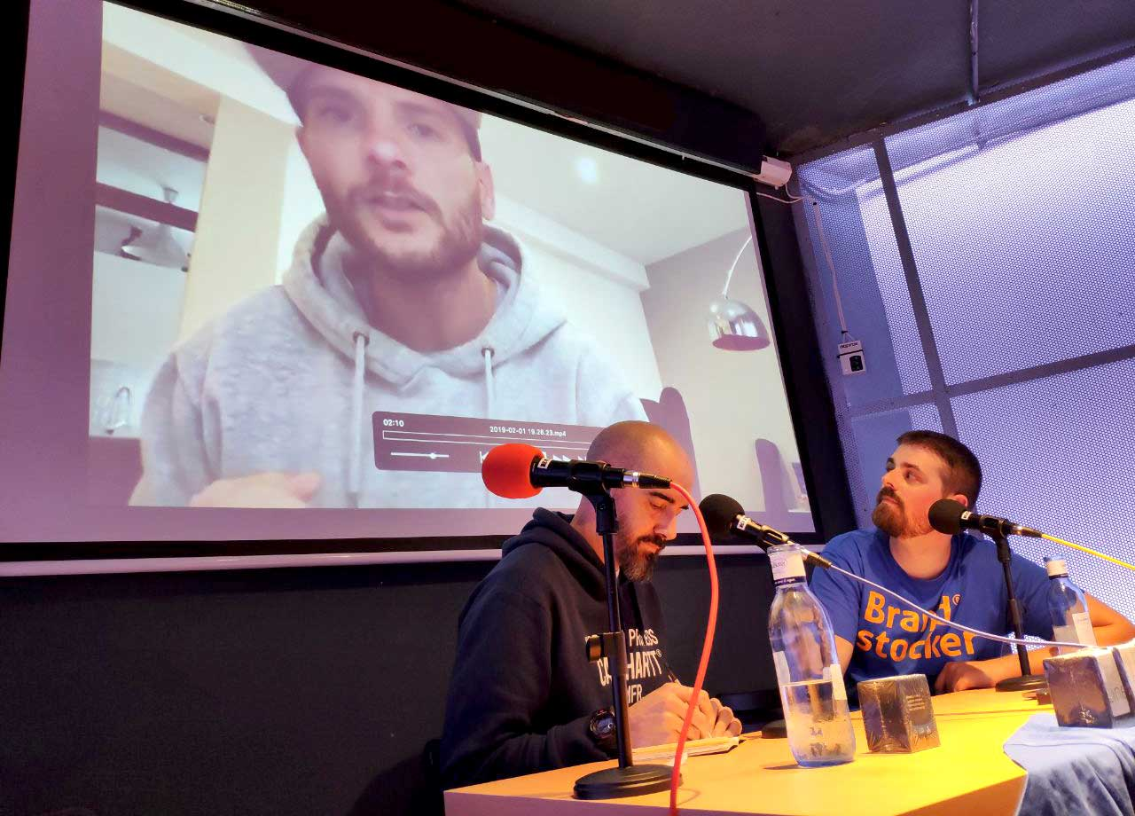 Entrevista en directo con Wences Sanz