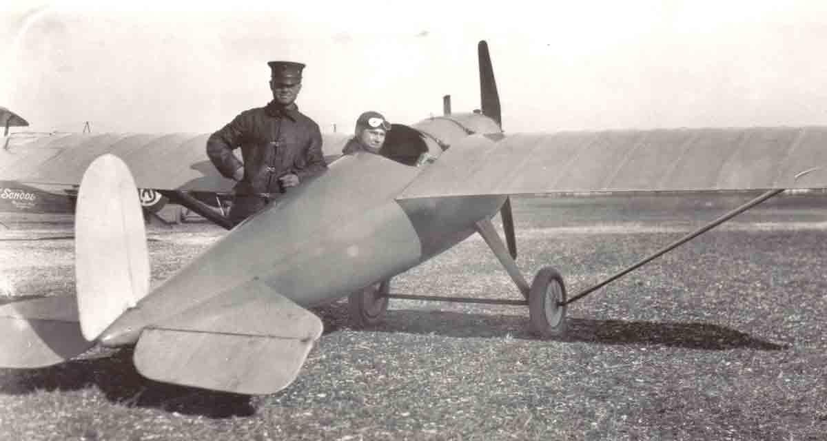 """Prototipo del monoplaza Jacuzzi J5 """"Mosquito"""""""