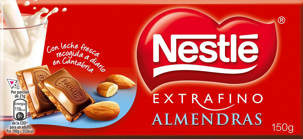 Ejemplo de marca comercial de Nestlé