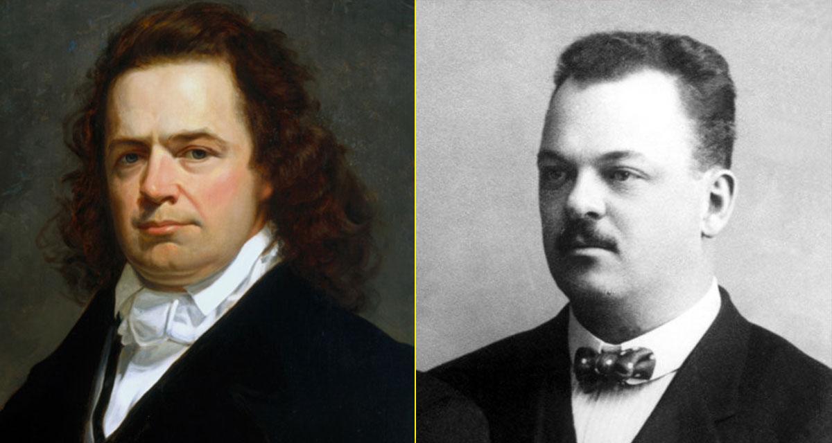 Los padres de la cremallera: Elias Howe y Gideon Sundbäck