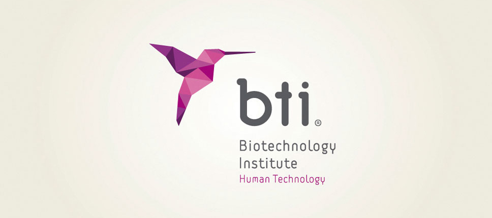 Diseño de logotipo BTI, por Rubén Galgo