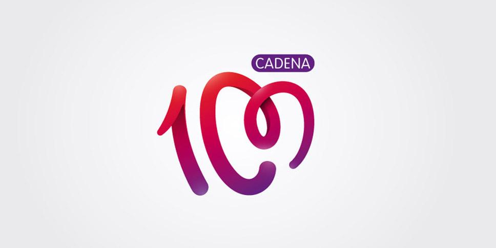 Proyecto realizado para cadena 100 - Logotipo