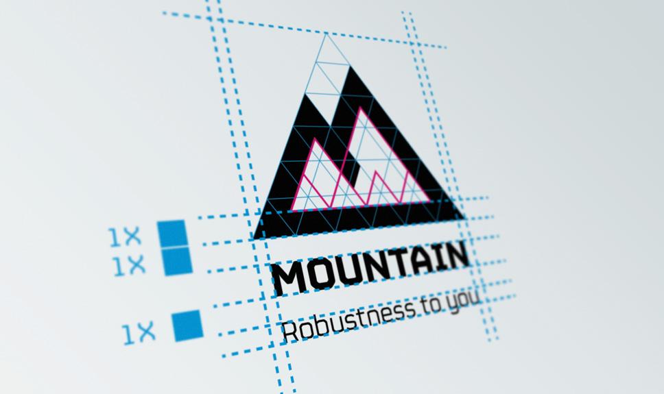 Quién ha diseñado el logo de ordenadores Mountain