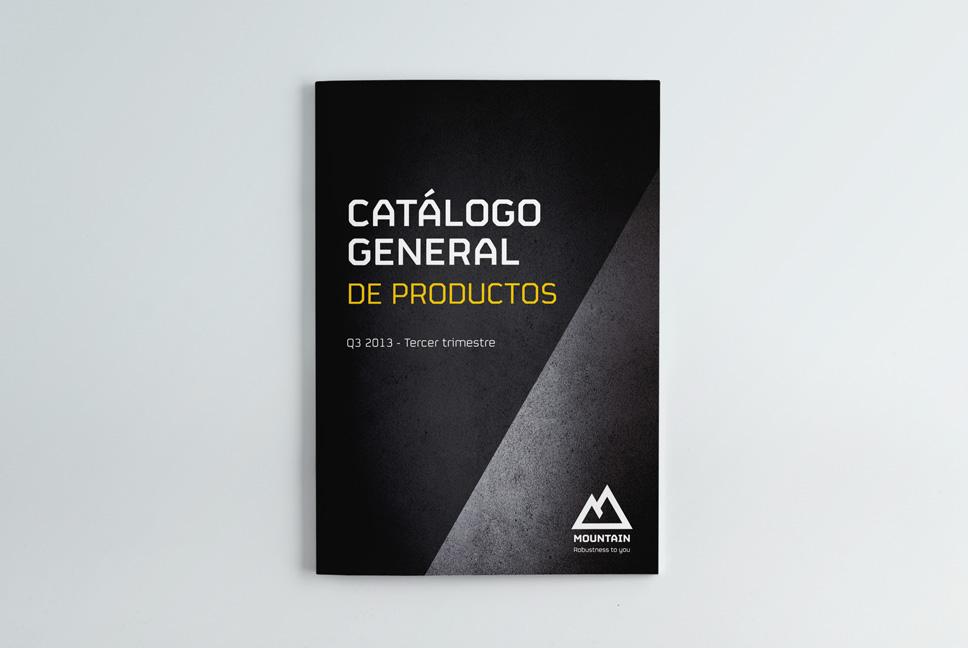 Catálogo general de productos de Mountain