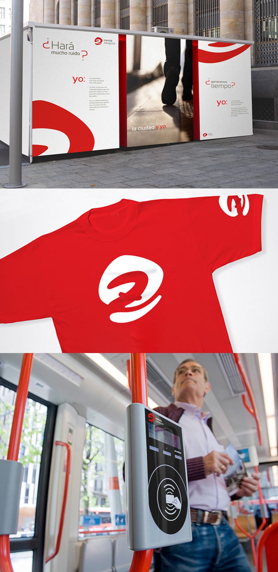 branding tranvía de Zaragoza