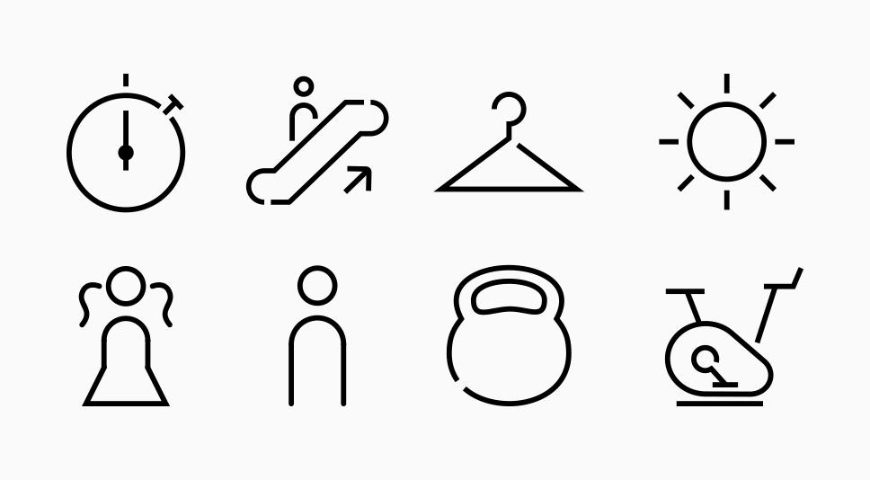Proyectos-BrandStocker-gimnasio-dreamfit-pictogramas