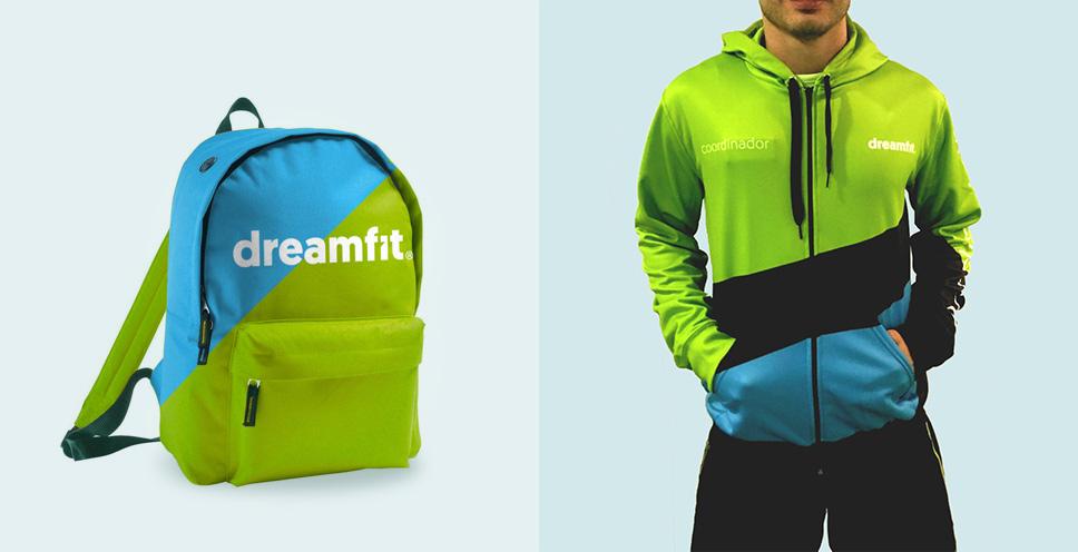 Proyectos-BrandStocker-gimnasio-dreamfit-sudadera-mochila