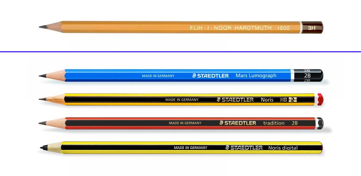 Evolución del lápiz de Staedtler