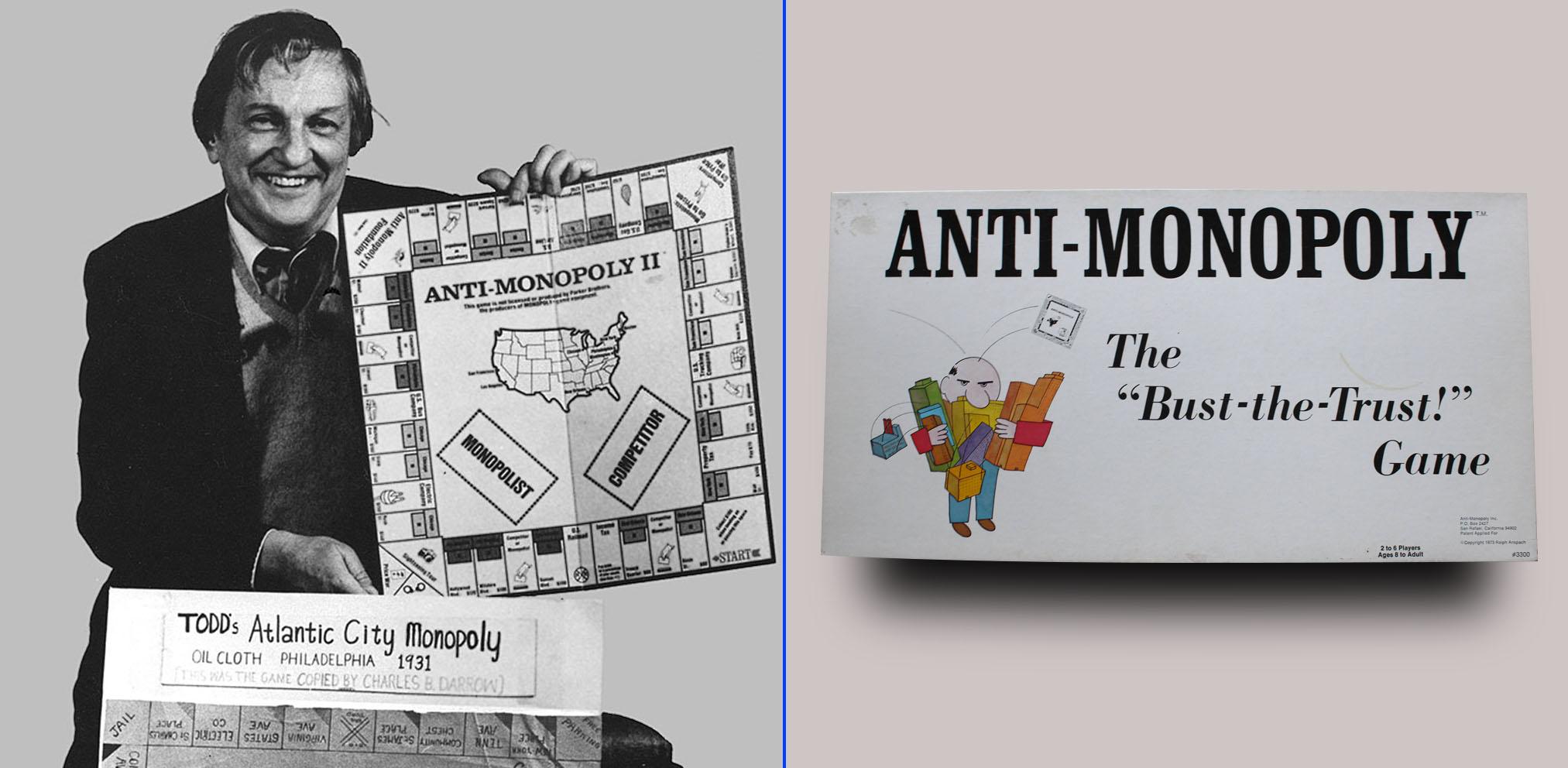 Profesor Ralph Anspach, creador del Anti-Monopoly