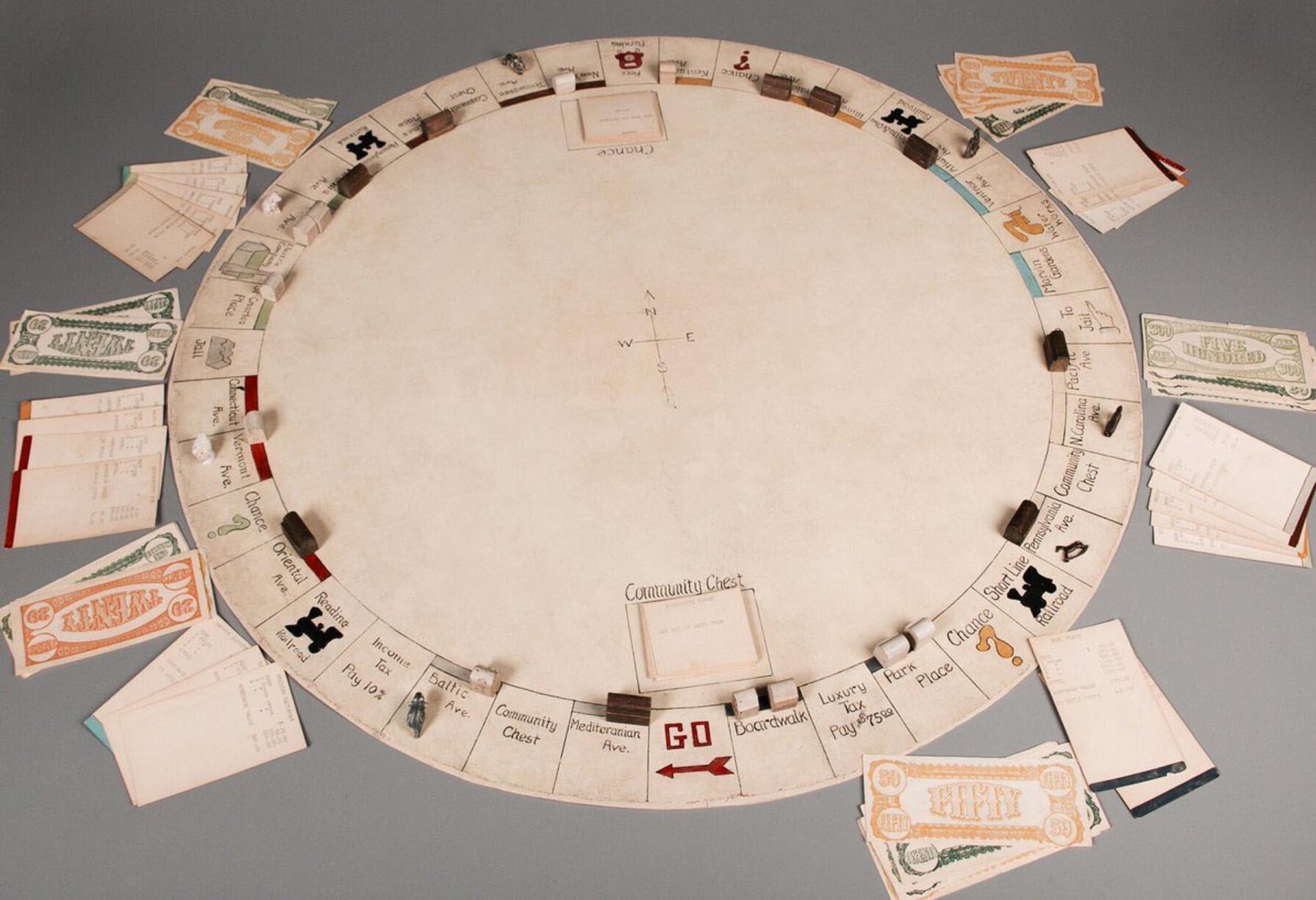 """Primera versión del Monopoly """"creada"""" por Darrow"""