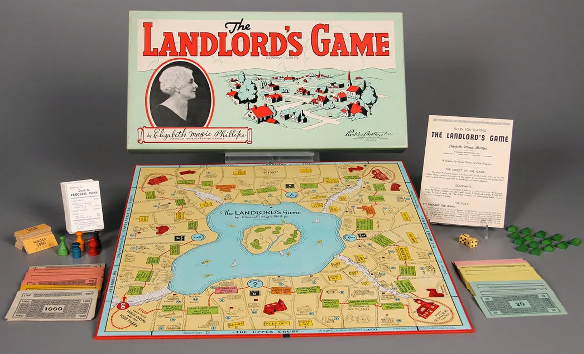 Landlord's Game, el Monopoly primigenio