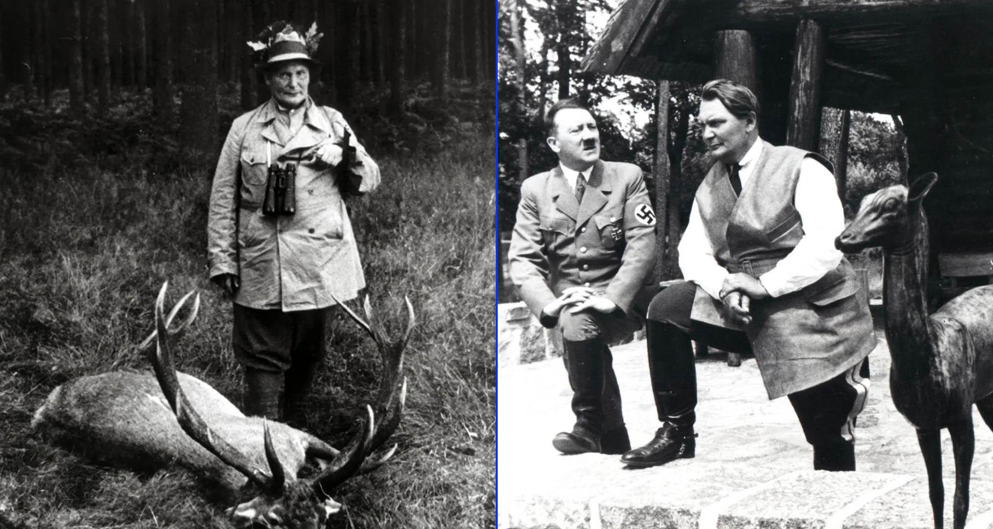 Hermann Göring, creador de la Sociedad Oficial de Caza en la Alemania nazi