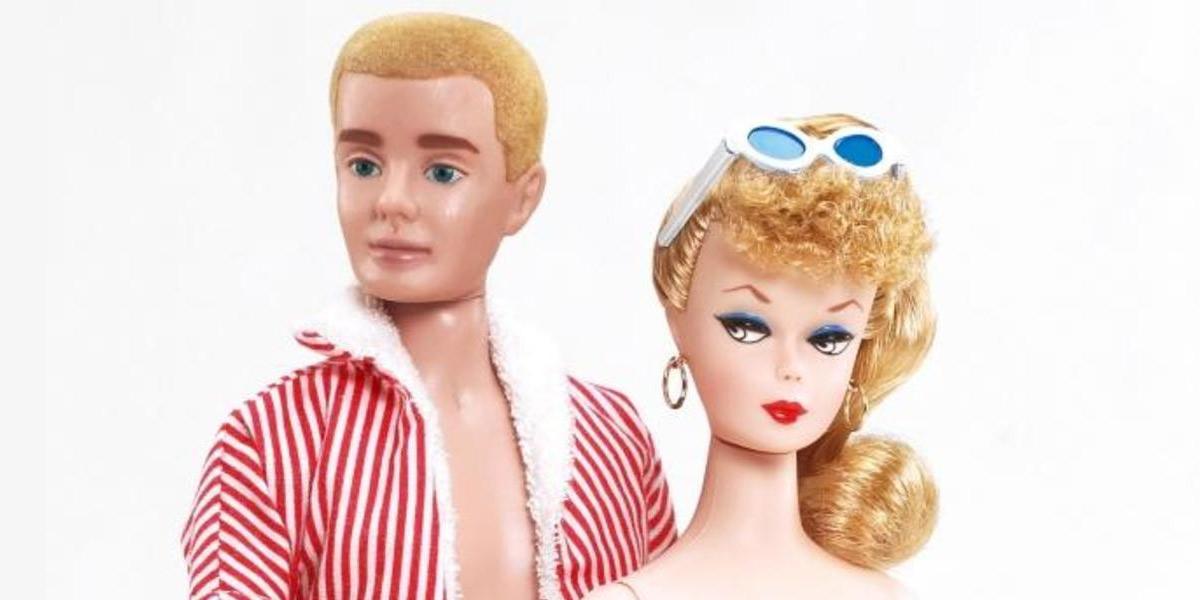 Primera Barbie y primer Ken de Mattel