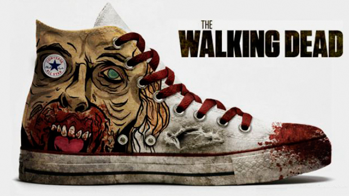 Converse All Star, edición especial The Walking Dead