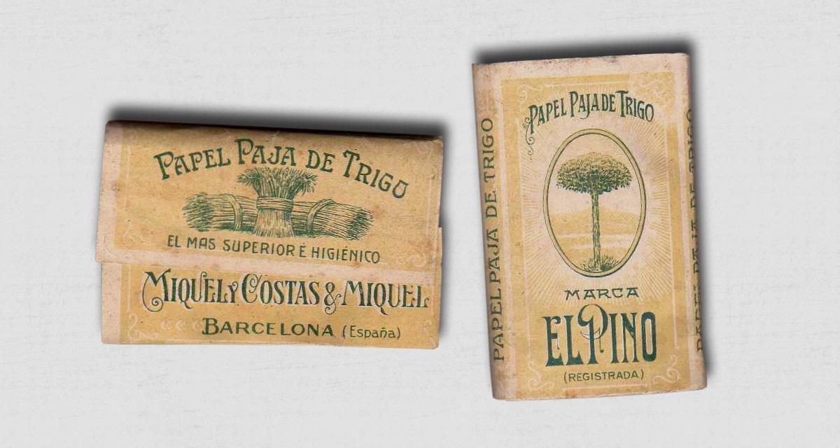 El Pino fue la primera marca que empezaron a comercializar los hermanos Miquel y Costas en 1880.