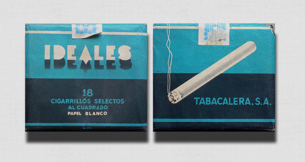 """Paquete de cigarrillos """"Ideales"""" diseñado por Carlos Vives"""