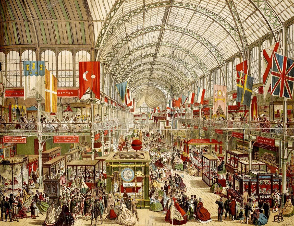 Londrés, exhibición internacional 1851