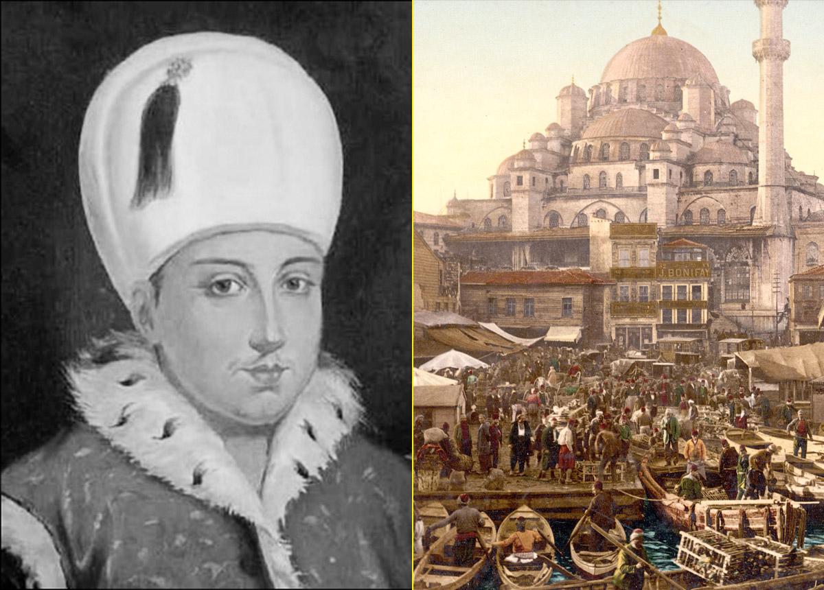 Sultán Osman II y recreación de la capital del imperio, Constantinopla