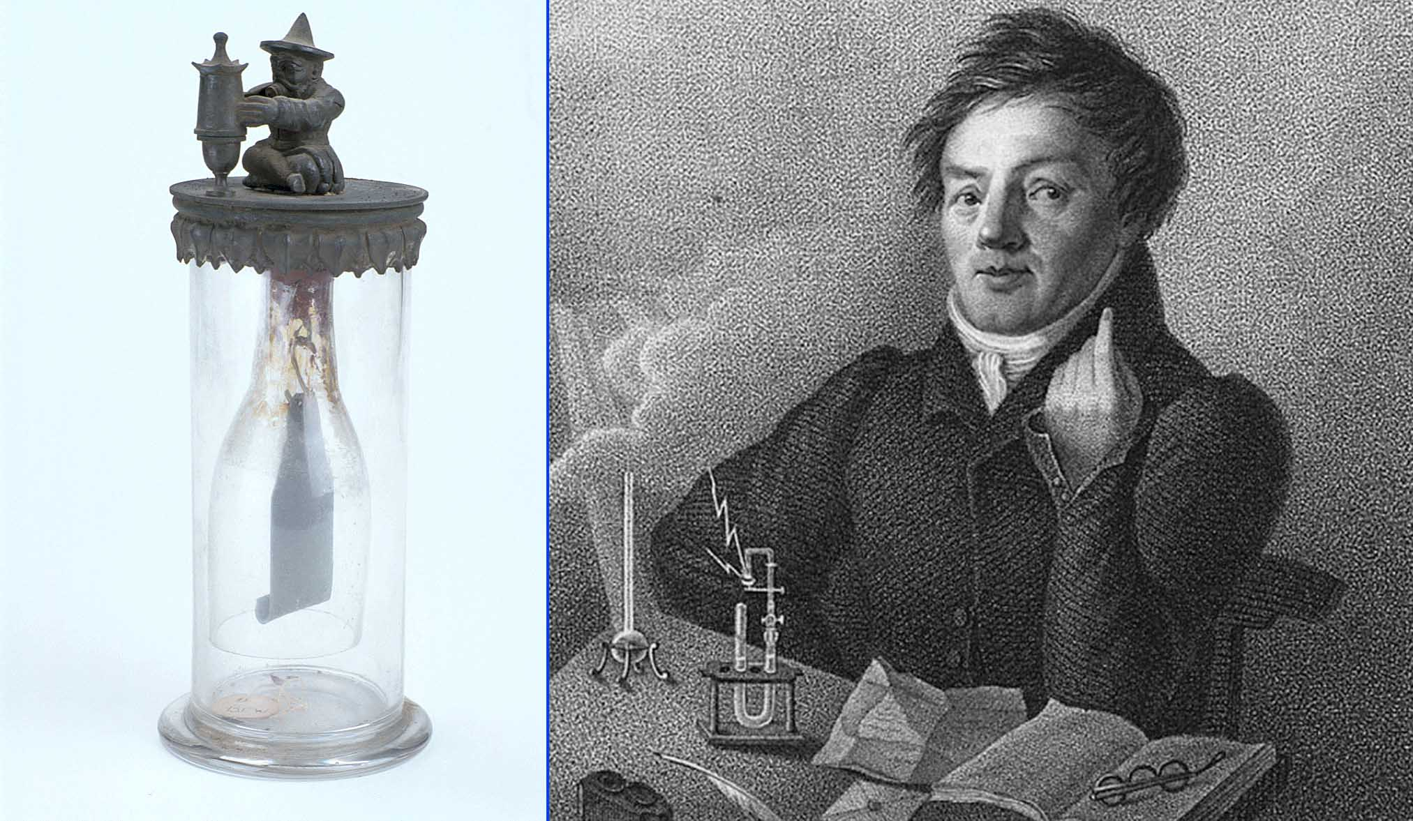 Johann Wolfgang Döbereiner, inventor de la lámpara de Döbereiner, un proto-mechero