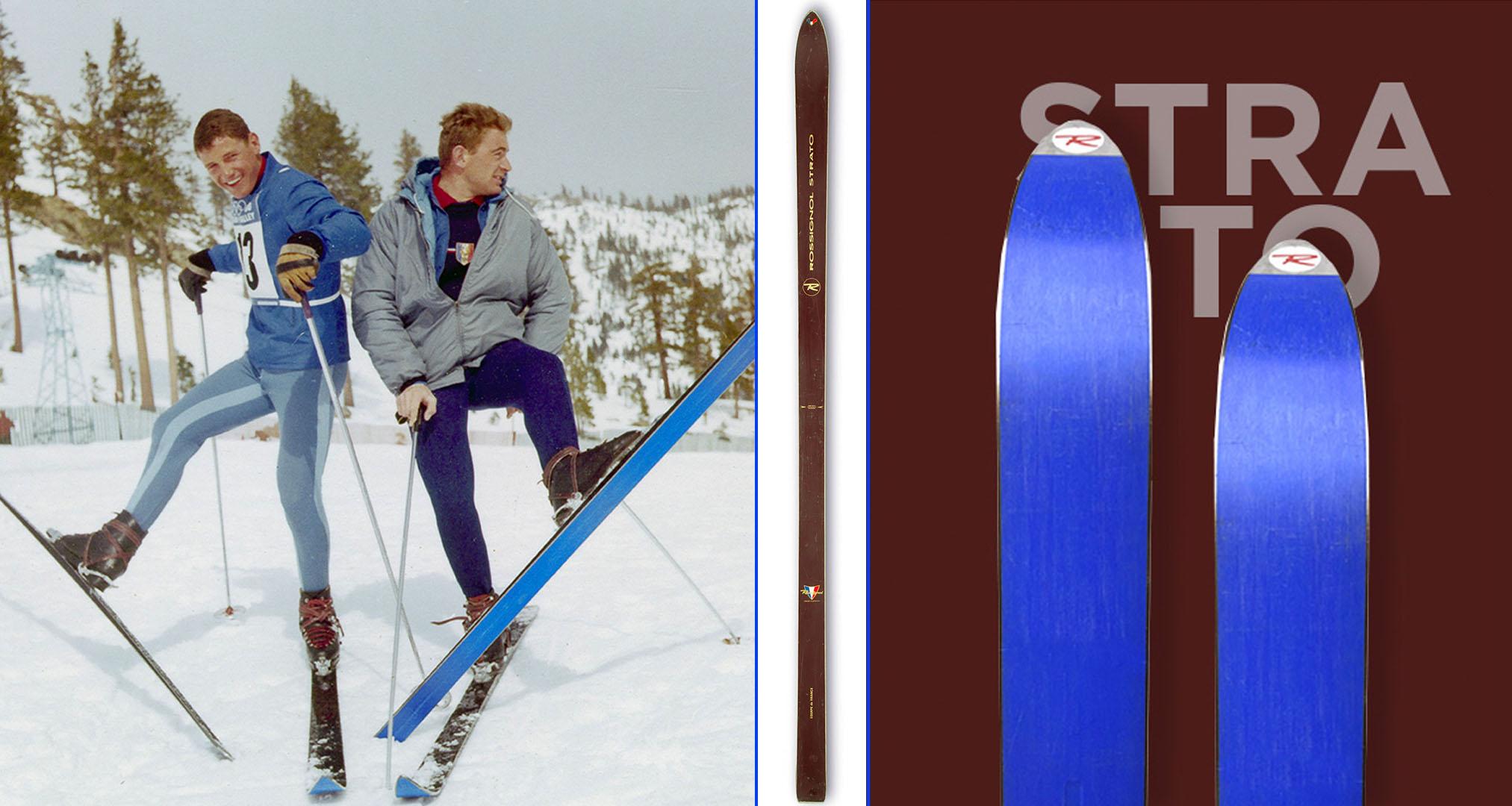 Esquí Strato de suela azul
