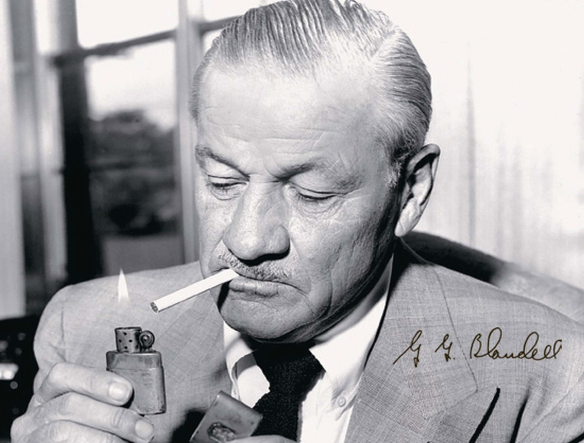 George Grant Blaisdell inventor de Zippo