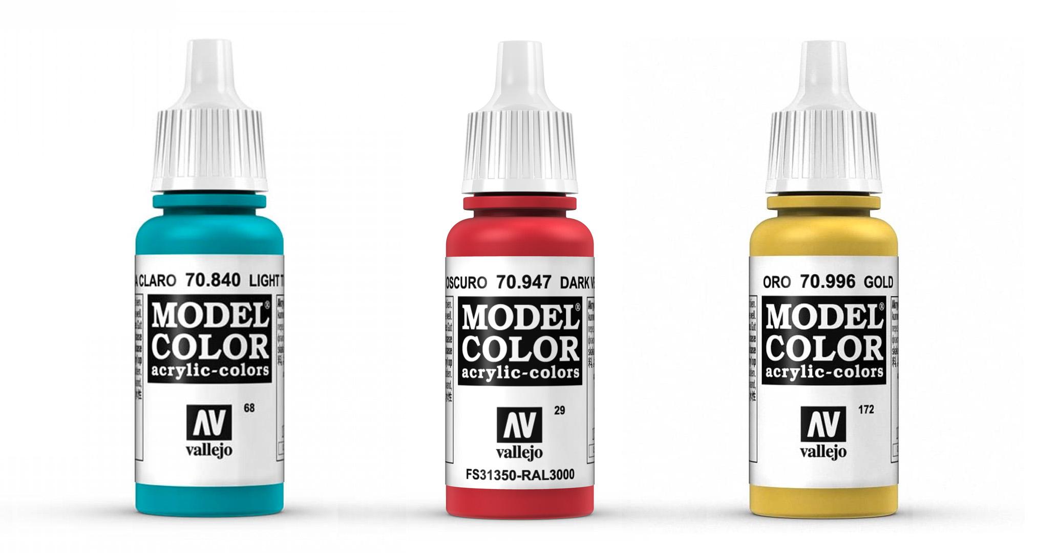 Model Color es el buque insignia de la marca Vallejo