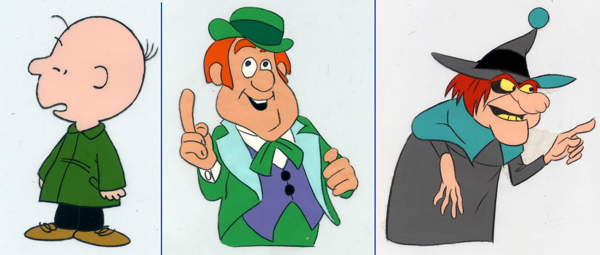 Originales de color Vallejo sobre acetato para animación