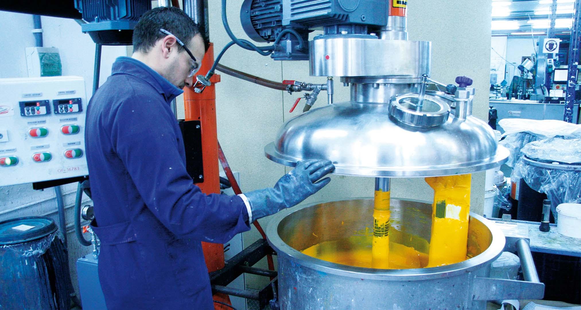Proceso de fabricación de Acrílicos Vallejo
