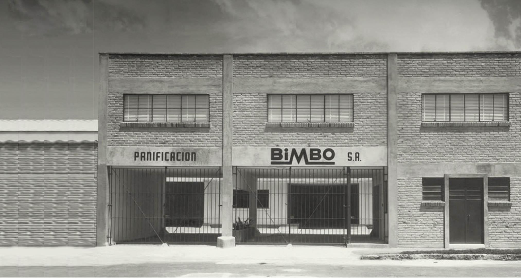 Primera fábrica de Bimbo