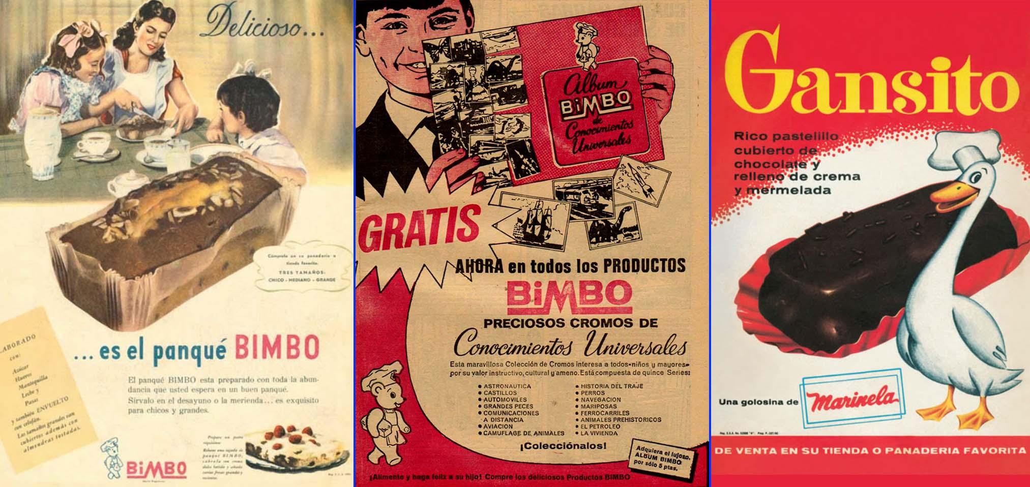 Primeros anuncios en prensa de Bimbo