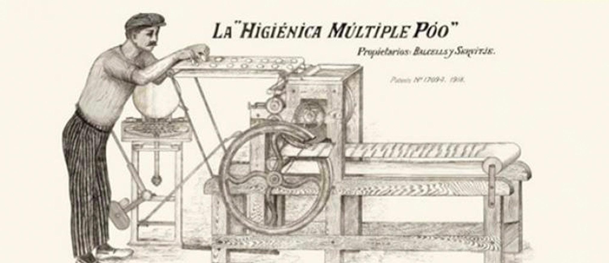 Primera máquina mexicana de hacer pan de molde