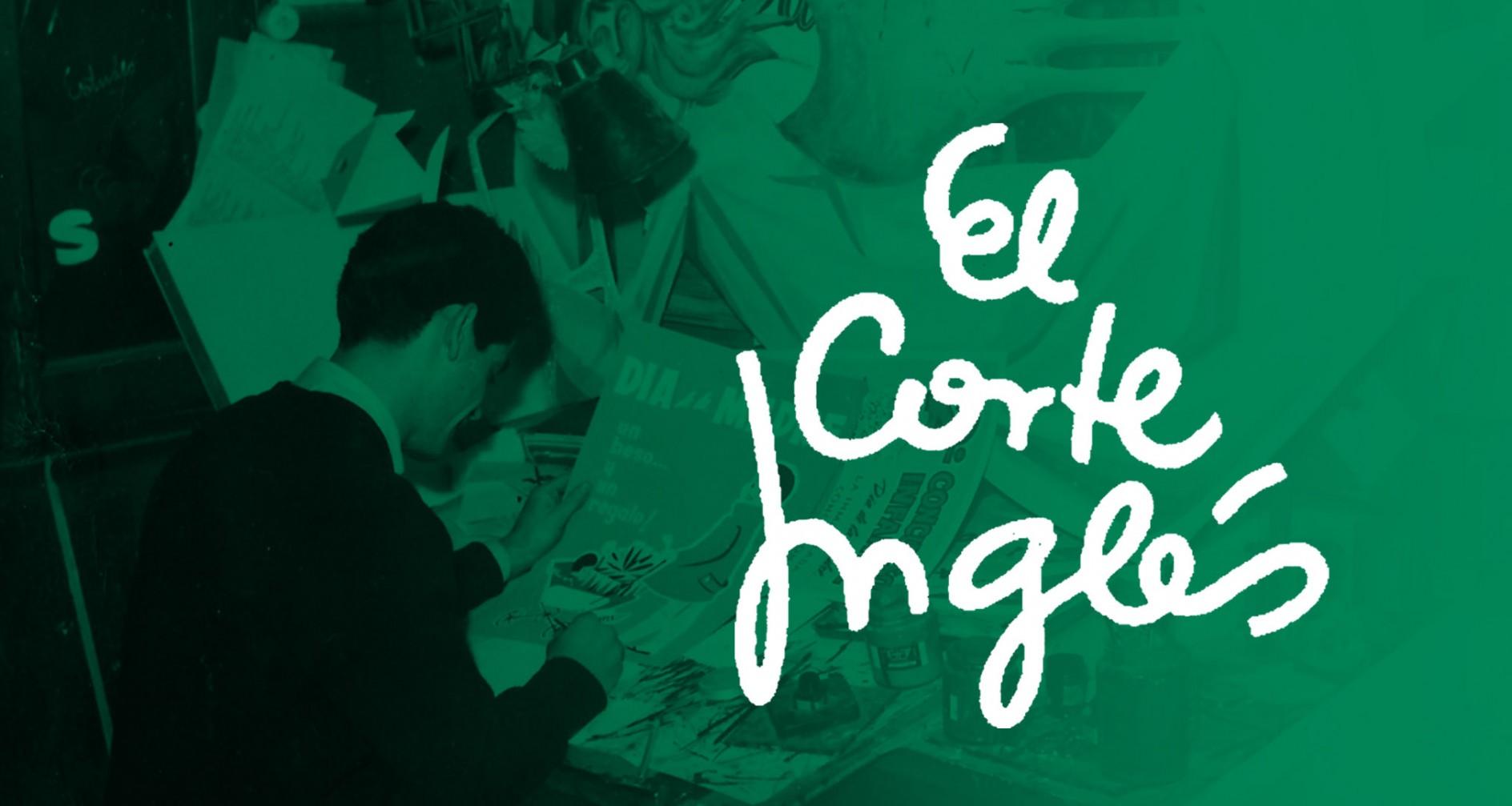 Francisco Castillo creador logotipo el Corte Inglés