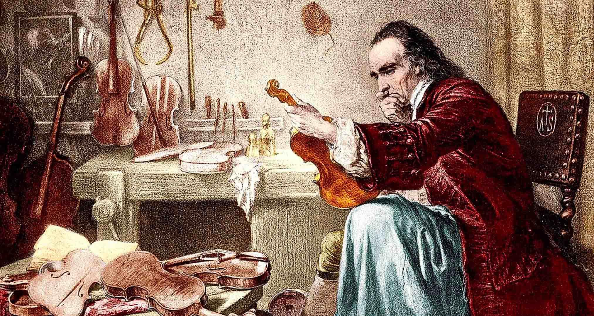 Gravado de Antonio Stradivari
