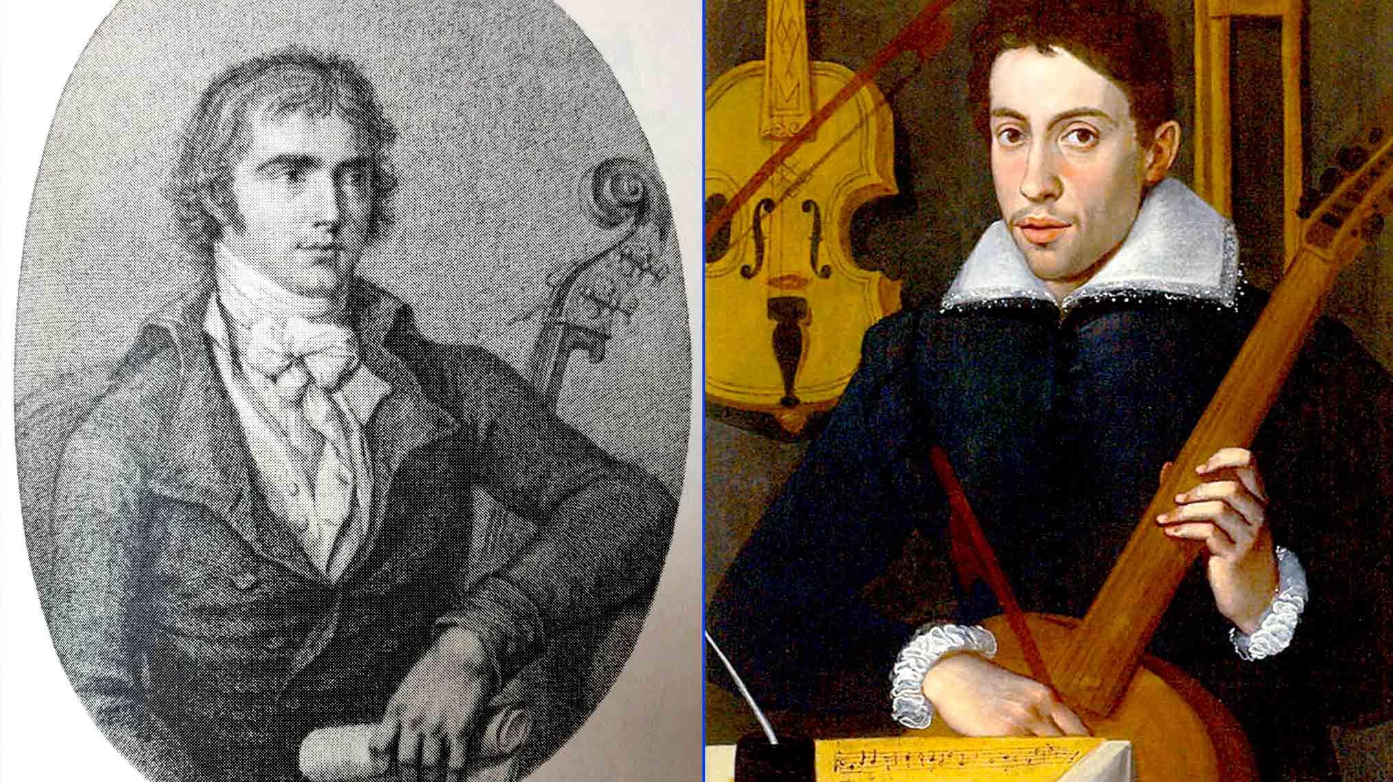 Gasparo Bertolotti y Andrea Amati, padres del violín moderno