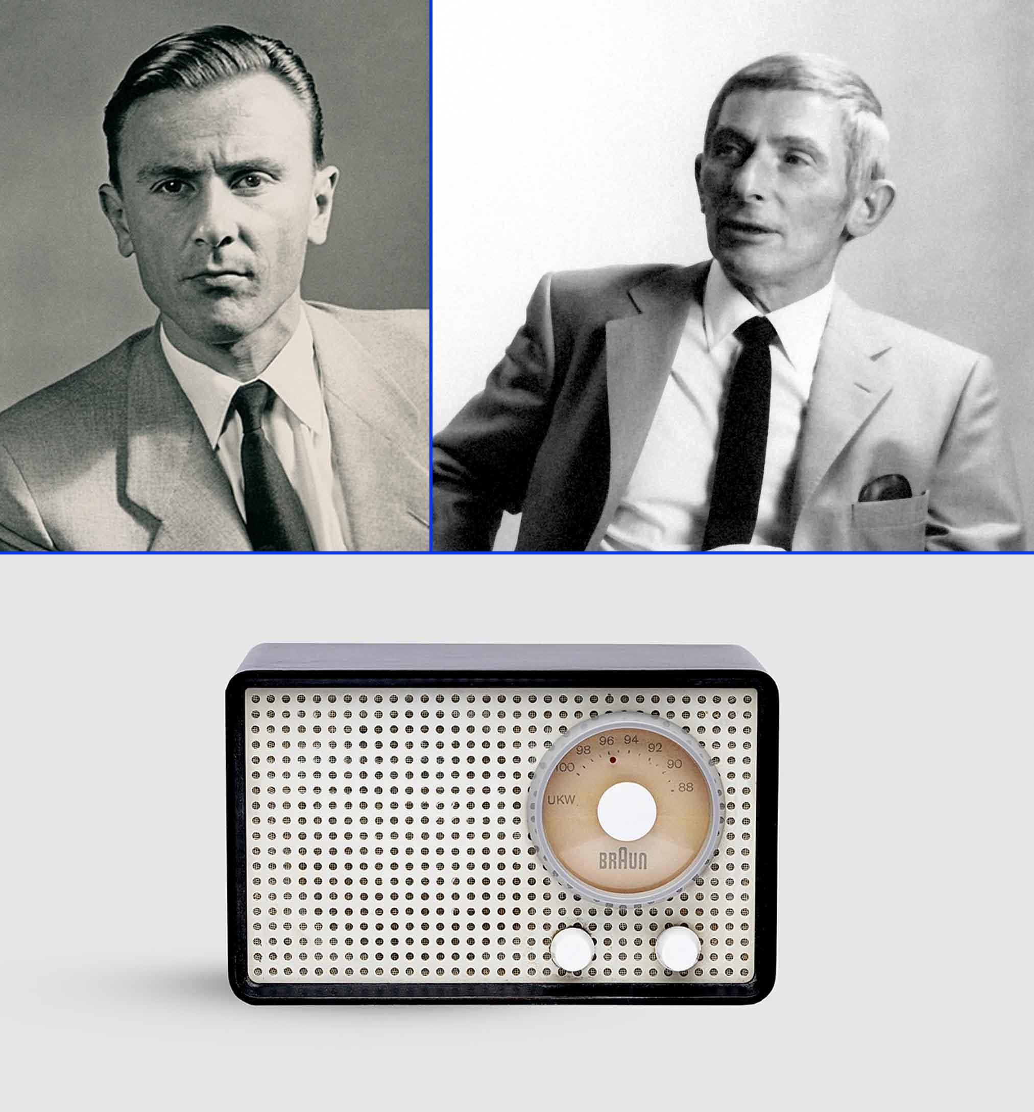 Artur Braun y Fritz Eichler diseñaron la radio de tubo SK 1.