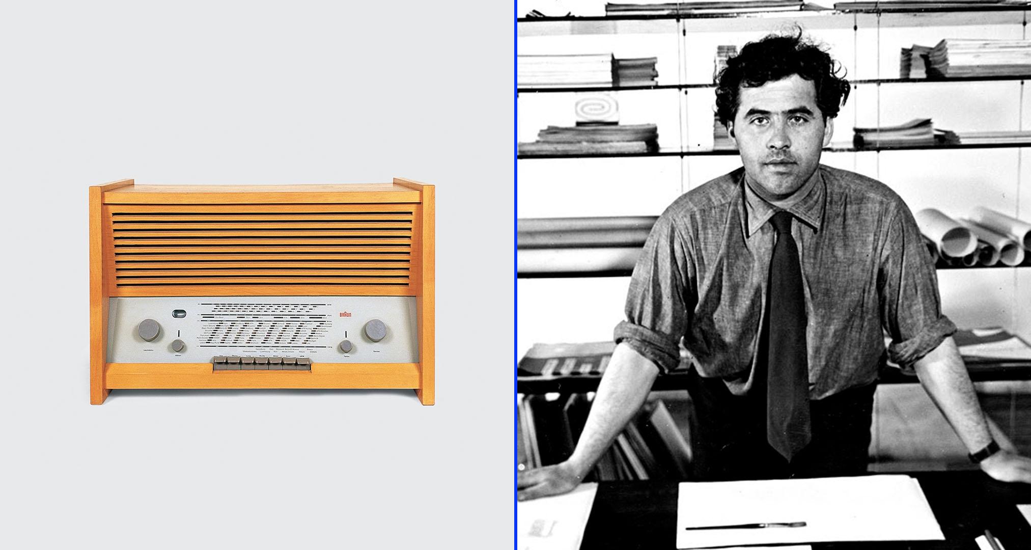 Radio G 11 diseñada por Hans Gugelot - Otl Aicher